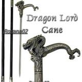 SABIE BASTON. Baston Dragon Lord Cane. Full Metal Sabie tip STILET. NOU