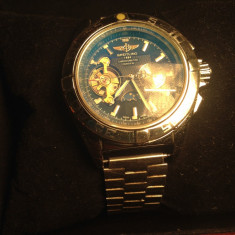 Breitling 1884 Chronographe Certifie Chronometre Automatic - Ceas barbatesc Breitling, Mecanic-Automatic