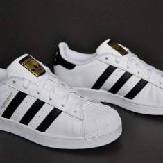 Adidasi Adidas Superstar DAMA alb negru - Adidasi dama, Marime: 36, 37, 38, 39, 40, 41, 42, 43, 44, Culoare: Din imagine, Piele sintetica