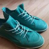 Papuci - Tenisi dama, Marime: 39, Culoare: Albastru