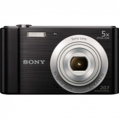 Aparat foto digital Sony Cyber-Shot DSC-W800, 20MP, Negru