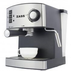 Espressor Zass ZEM04, 850 W, 15 bar, 1.6 l, Negru - Espressor automat