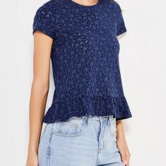 Bluza Vero Moda din dantela - art. 10155268 bleumarin - Bluza dama Vero Moda, Marime: XS, S, M, L, Culoare: Albastru