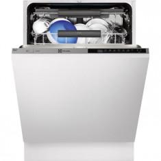 Masina de spalat vase incorporabila Real Life Electrolux ESL8316RO, Touchcontrol, 15 Seturi, 6 Programe, Clasa A++, 60 cm, Gri