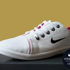 Tenisi NIKE model Sport albi - Tenisi dama Nike, Marime: 38
