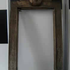 Imensa rama de tablou, din lemn, vintage, stare buna, de colectie/decor. - Mobilier, Accesorii mobilier