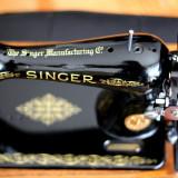 Masina de cusut Singer din 1939