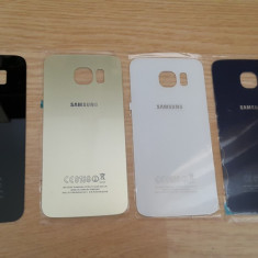 Geam sticla capac spate Samsung galaxy S6 - Geam carcasa
