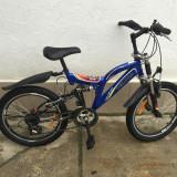 15 Bicicleta copii velors second-hand,germania. r20