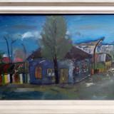 Casa din Barlad - Pictor roman, Peisaje, Ulei, Realism