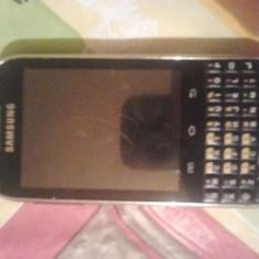 Smartphone Samsung Galaxy Chat - Telefon Samsung, Negru, 4GB, Neblocat, Single SIM, Dual core
