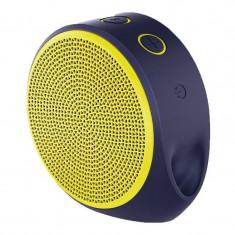 Boxa portabila wireless Logitech X100 1.5W yellow, Conectivitate bluetooth: 1