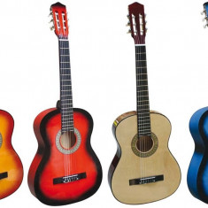 Chitara Acustica cu 6 corzi 78cm - Lemn / Pt Incepatori sau copii / Culori