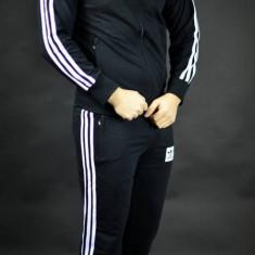 Trening ADIDAS patratel negru-alb.Model barbati- S M L XL XXL - Trening barbati Adidas, Culoare: Din imagine, Bumbac