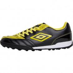 Ghete fotbal Adidas pt turf (teren sintetic) UMBRO 100% originale, noi, Marime: 43, Culoare: Negru, Teren sintetic: 1