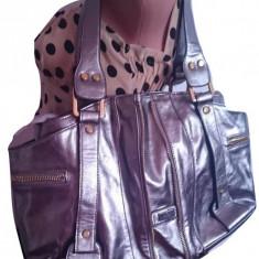 Geanta Gucci - Geanta Dama Gucci, Culoare: Argintiu, Marime: Mare