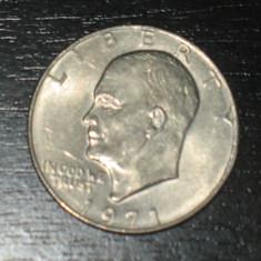 Moneda 1 dolar SUA 1971, model mare, America de Nord