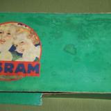instalatie veche de brad/ pom de Craciun becuri OSRAM anii '40-'50