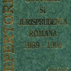 Constantin Crisu - Doctrina si Jurisprudenta Romana 1989-1994, vol. 1 - 645459 - Carte Drept administrativ