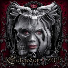 Calendar 2017 de perete Spiral Direct - Dark Arts