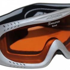 Ochelari schi snowboard Alpina SingleFlex Scout, unisex, marimea S - Ochelari ski