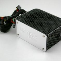 Surse calculator GREEN DIAMOND 550W, 6+2 PCI-Ex, 6xSATA, vent.140mm, garantie! - Sursa PC MS Tech, 550 Watt