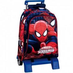 Ghiozdan BTS Cu Troler Spiderman Eyes
