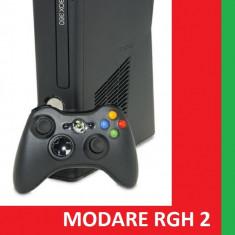 Consola Xbox 360 Microsoft slim - Modare RGH2+GTA 5-FIFA 16-Minecraft, etc..