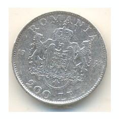 Romania 200 lei 1942 - Moneda Romania, Argint
