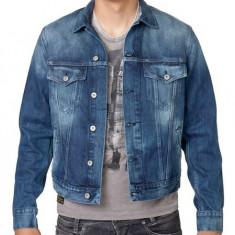 Vand Geaca Blugi Jacket Pepe Jeans Pinner Denim W45, absolut noua, slim ! - Geaca barbati Pepe Jeans, Marime: L, Culoare: Din imagine, Bumbac