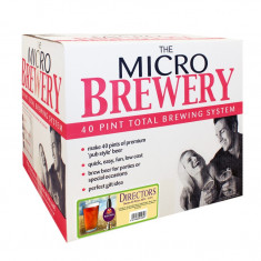 Young's Micro Brewery Directors CompleteSystem - set complet pentru bere de casa, Bruna