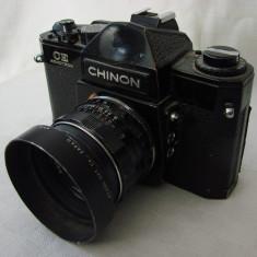 Aparat foto manual pe film marca CHINON cu obiectiv (1) - Aparat Foto cu Film Olympus, SLR