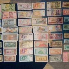 Lot bancnote (50 buc.) si lot monezi (56 buc.), Europa