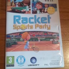 Jocuri WII Ubisoft, Sporturi, 3+, Multiplayer - JOC WII RACKET SPORTS PARTY ORIGINAL PAL / by DARK WADDER