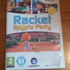 JOC WII RACKET SPORTS PARTY ORIGINAL PAL / by DARK WADDER - Jocuri WII Ubisoft, Sporturi, 3+, Multiplayer