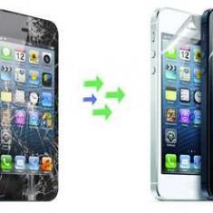 Gevey SIM - Inlocuire Geam Sticla iPhone 5s Alb