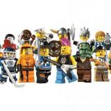 Setul complet de Minifigurine LEGO seria 4 - Set motor auto