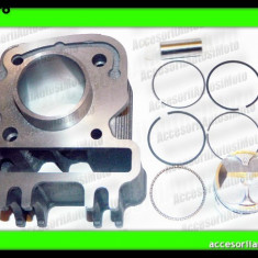 Set cilindri Moto - CILINDRU PIAGGIO 4T Fly 50cc Zip Vespa ET4 LX S 50cc