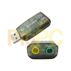 Placa de sunet PC, USB - Placa audio placa de sunet USB
