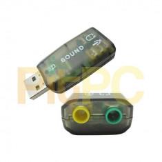 Placa audio placa de sunet USB - Placa de sunet PC, USB