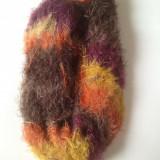 Fir de tricotat sau crosetat , moale ca un puf, matasoasa superba!  cu lurex