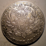 G.274 AUSTRIA TARILE DE JOS MARIA THERESA THALER TALER 1764 ARGINT 29,3g