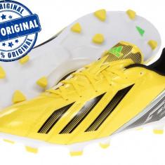 Ghete fotbal Adidas F10 - adidasi originali - ghete barbat - adidasi fotbal, Barbati, Iarba