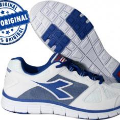 Adidasi barbat Diadora Hawk 3 - adidasi originali - running - adidasi alergare - Adidasi barbati Diadora, Marime: 40.5, 41, 42, 42.5, 43, 44, 44.5, 45, 46, Culoare: Alb, Textil