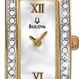 Ceas original de dama Bulova Mother of Pearl Dial 98V28