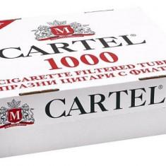 Tuburi tigari Cartel 1000 TUBURI CU FILTRU MARO - Foite tigari