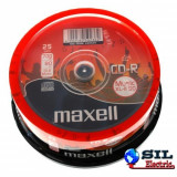 CD player - CD-R audio 700MB 52x 25buc pe cutie Maxell