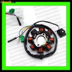 Electrica Moto - MAGNETOU GY6 150 cc 4T 8 Bobine 50 80 125 150 cc STATOR APRINDERE ATV SCUTER