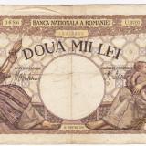 5) Bancnota 2000 lei 1941