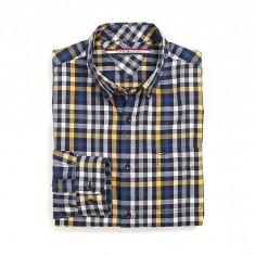 Camasa barbati Tommy Hilfiger, Maneca lunga - Camasa Tommy Hilfiger Custom Fit Plaid Shirt S M
